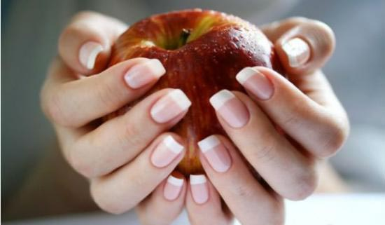 nails with apple