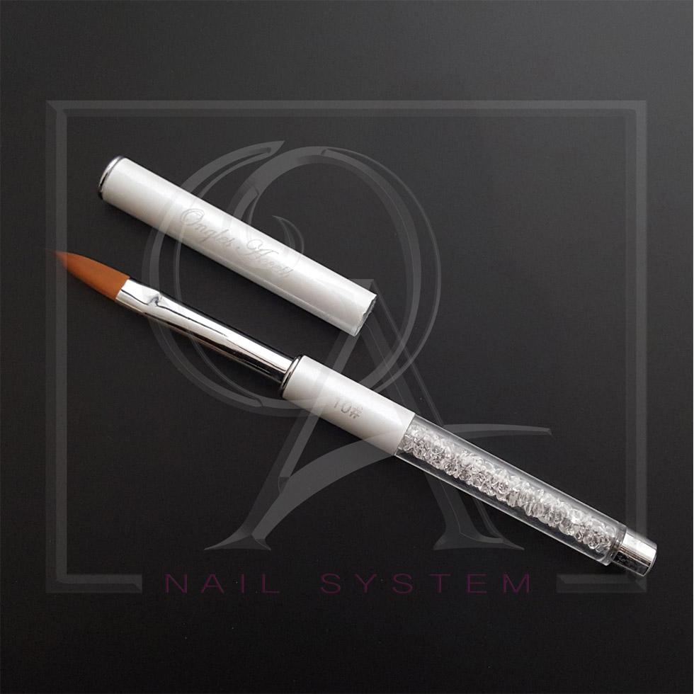 Λευκό Πινέλο Για Ακρυλικό Νο 10 (ΚΩΔ.0902-1017)