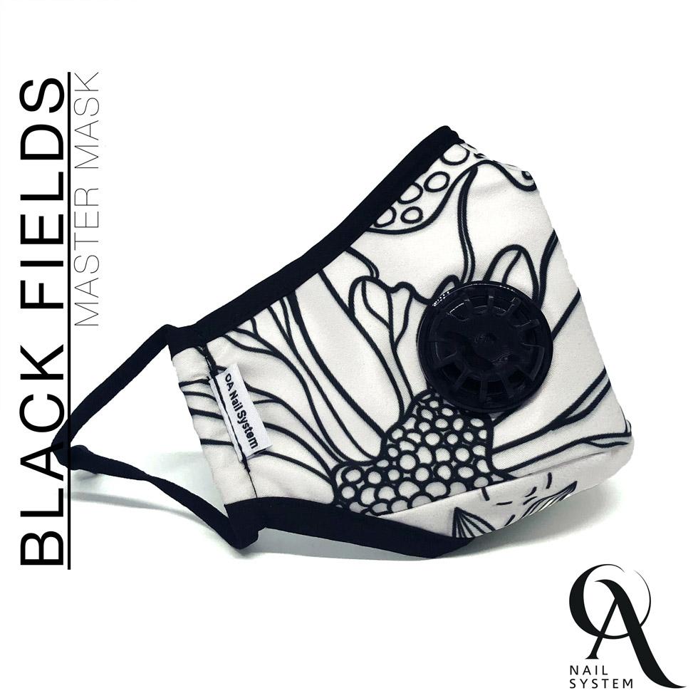 Master Mask - Black Fields - One Size (ΚΩΔ.0801-1012)