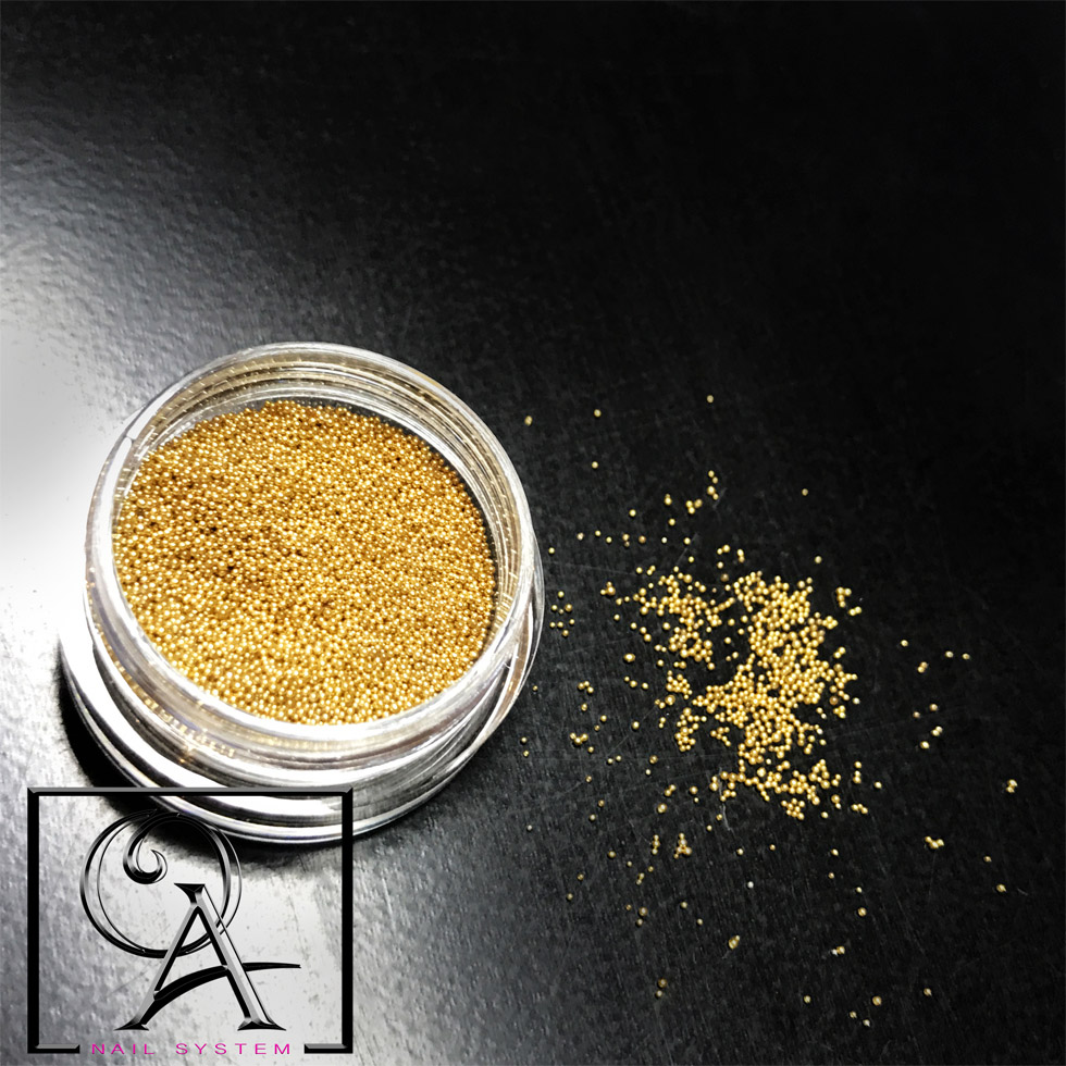 Micro Beads Gold (ΚΩΔ.0403-3012)
